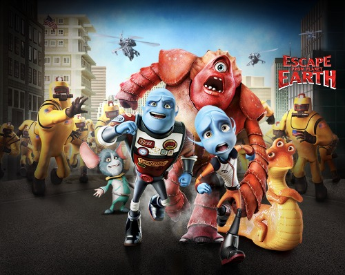 escape from planet earth movie