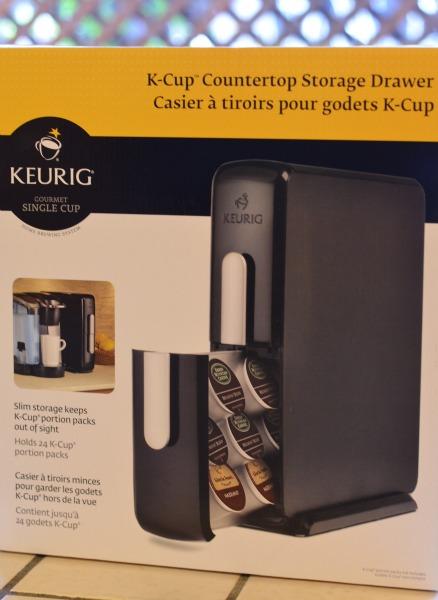 kcup countertop storage