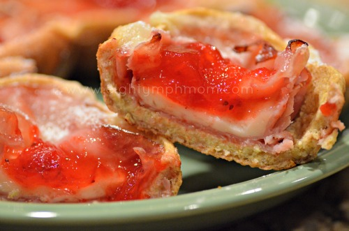 healthy monte cristo breakfast cups