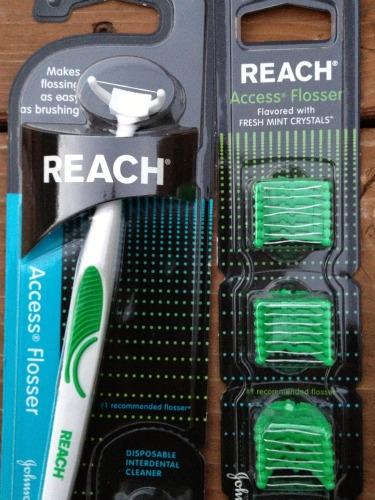 access flosser,reach,dental