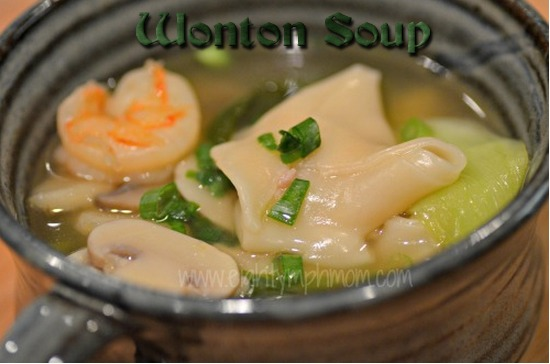 homemade,wonton soup, how to