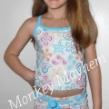 Jaylin modeling her tankini from Snapper Rock