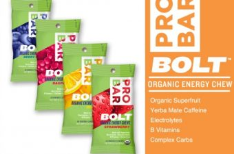 PROBAR BOLT Organic Energy Chews/Protein Bars