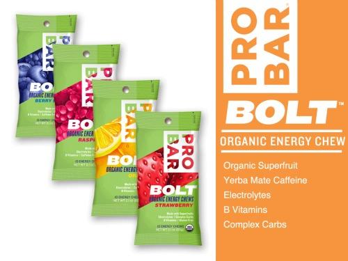 Pro Bar organic energy chews