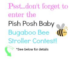 buggaboo bee,pish posh baby, contest