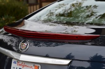cadillac xts rear view