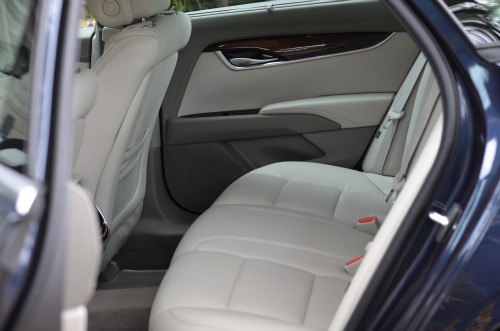 cadillac xts back seat