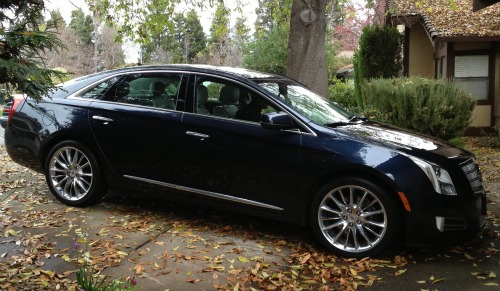 cadillac xts,review