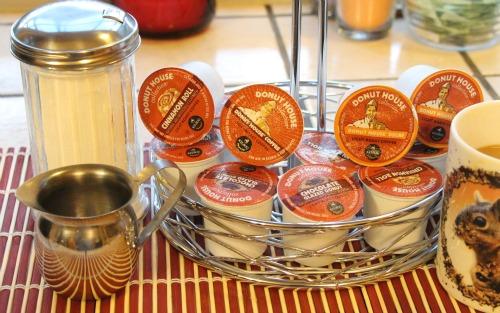 k-cups,donut house,coffee