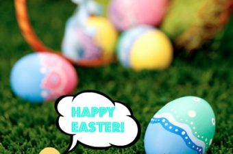 Easter traditions – from the Eighty MPH Mom team!