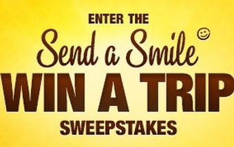 send a smile,win a trip,
