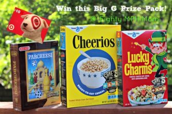 Big G Retro Prize Pack (Cereals, Parcheesi and $10 Target Gift Card) Giveaway