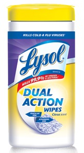 Lysol wipes, healthing