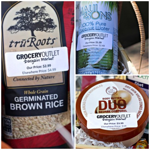 coconut water,body butter,germinated brown rice,grocery outlet