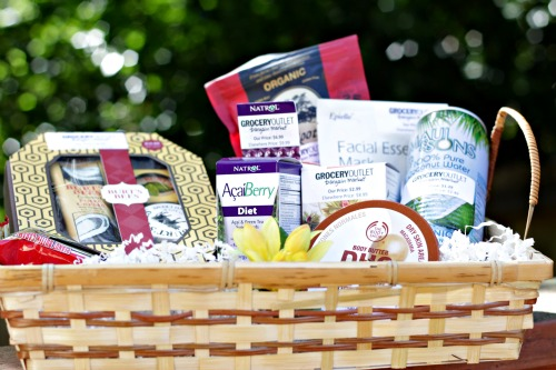 gift basket,organic,grocery outlet