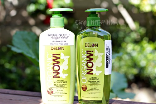Organic Now,shampoo,conditioner,Grocery outlet