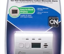 carbon monoxide alarm,Kidde,safety