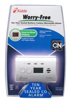 carbon monoxide alarm,Kidde,safety