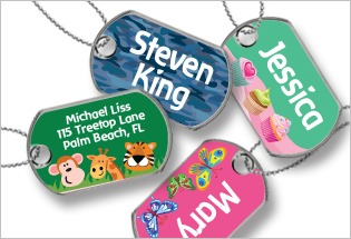 name tags,kids,label land