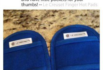 Le Creuset,hot pads,