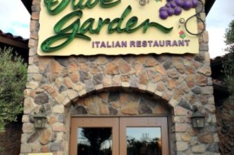 Olive Garden Buy One, Take One menu items