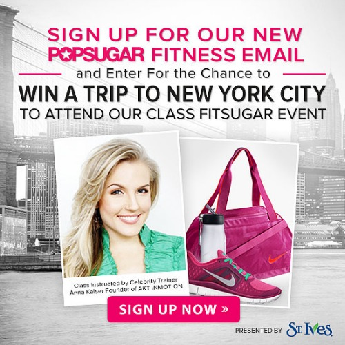 pop sugar fitness,sweepstakes,new york city