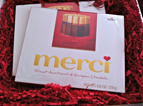 Merci,chocolate,mother's day