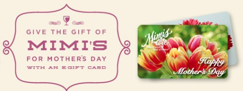Mimi's Cafe,Mother's Day,gift
