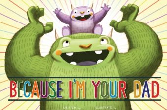 """Because I'm Your Dad"" Rockin' Father's Day Book"