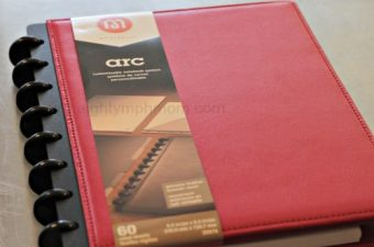 Arc notebook,Staples