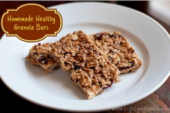 Asparagus with Walnuts and Homemade Healthy Granola Bars Recipes – inspired by Fisher Nuts