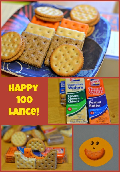 happy 100 lance,crackers,
