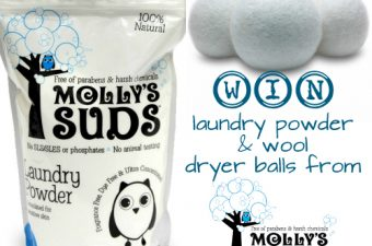 Molly's Suds 100% Natural Laundry Powder and Wool Dryer Balls