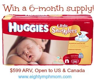 Huggies,Little Snugglers,diapers,win