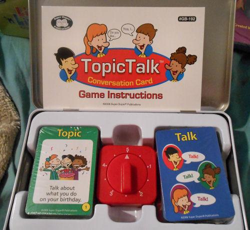 TopicTalk™ Conversation Card Game