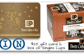 Do You Give A Cup? {Peet's Coffee Giveaway ARV $35.99}
