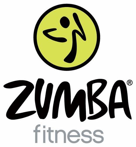 Zumba White Logo (465x500)