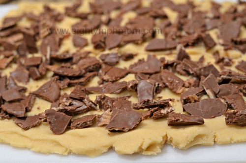 chocolate covered,potato chips