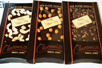 Build A Chocolate Bar Just for Him for Father's Day with Chocomize