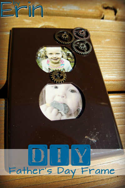 Fathers Day Gift Idea Diy Outlet Cover Frame Eighty Mph Mom