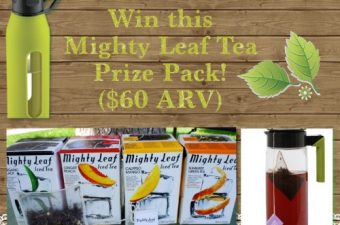 Summer Sipping with Mighty Leaf! {DIY Iced Tea Brewing Kit Giveaway ARV $60}