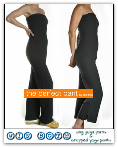 The Perfect Pant Long Yoga Pants & Cropped Yoga Pants