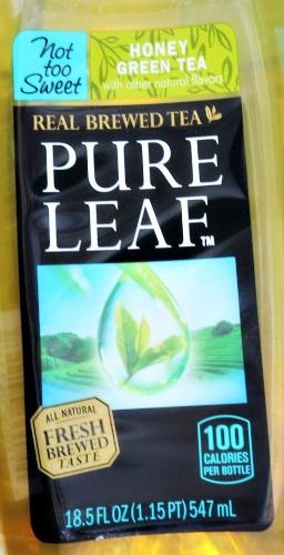 pure leaf,tea,bottles