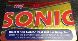sonic gift card,summer of shakes,giveaway