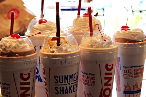 milkshake,sonic,pineapple,peanut butter,bacon