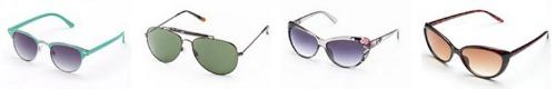 sunglasses,heart shaped,faces,kohl's