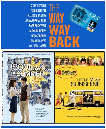 prize pack,summer movies,The Way Way Back