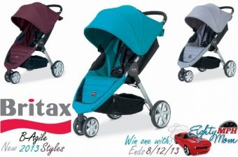 Extravagance Meets Agility with the All New Britax B-Agile Stroller – Review & Giveaway
