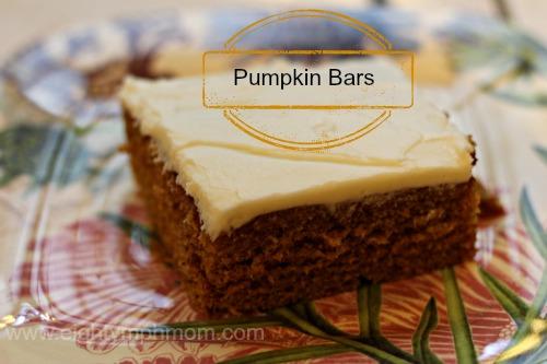 pumpkin bars,dessert,cake