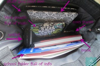 Thirty-One Gifts -Stylish Cindy Tote Organizing Tote